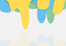 Υπόβαθρο πτώσης χρώματος Στοκ φωτογραφία με δικαίωμα ελεύθερης χρήσης