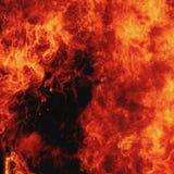 Υπόβαθρο πυρκαγιάς ως σύμβολο της κόλασης και της κόλασης Στοκ φωτογραφία με δικαίωμα ελεύθερης χρήσης