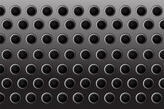 υπόβαθρο πυλών μετάλλων κύκλων Στοκ εικόνα με δικαίωμα ελεύθερης χρήσης
