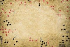 Υπόβαθρο πόκερ Στοκ Φωτογραφίες