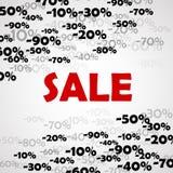 Υπόβαθρο πώλησης Απεικόνιση αποθεμάτων