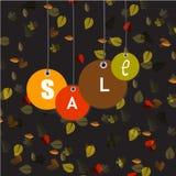 Υπόβαθρο πώλησης φθινοπώρου Στοκ φωτογραφία με δικαίωμα ελεύθερης χρήσης
