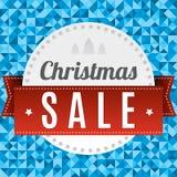 Υπόβαθρο πώλησης Χριστουγέννων Ελεύθερη απεικόνιση δικαιώματος