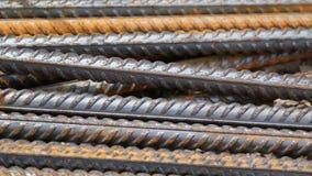 Υπόβαθρο ράβδων χάλυβα Στοκ Εικόνες