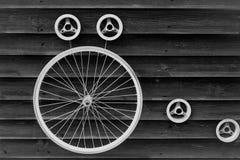 Υπόβαθρο ροδών ποδηλάτων Στοκ φωτογραφία με δικαίωμα ελεύθερης χρήσης