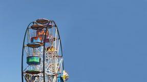 Υπόβαθρο ροδών Ferris Στοκ φωτογραφία με δικαίωμα ελεύθερης χρήσης