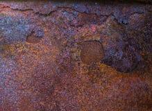 Υπόβαθρο σκουριάς μετάλλων, σύσταση σκουριάς μετάλλων Στοκ Εικόνες