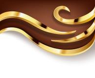 Υπόβαθρο σοκολάτας Στοκ Εικόνες
