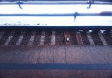 Υπόβαθρο σταθμών μετρό σιδηροδρόμων της Μόσχας Στοκ φωτογραφία με δικαίωμα ελεύθερης χρήσης