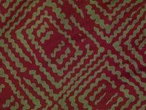 Υπόβαθρο στα κόκκινα κύματα, ύφασμα Στοκ φωτογραφία με δικαίωμα ελεύθερης χρήσης