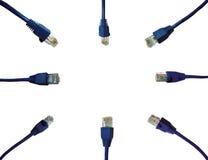 Υπόβαθρο συνδετήρων δικτύων Στοκ φωτογραφία με δικαίωμα ελεύθερης χρήσης