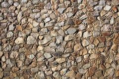 Υπόβαθρο - συσσωρευμένος πέτρινος τοίχος Στοκ φωτογραφία με δικαίωμα ελεύθερης χρήσης