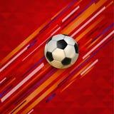 Υπόβαθρο σφαιρών ποδοσφαίρου γεγονότος αγώνων ποδοσφαίρου Στοκ φωτογραφία με δικαίωμα ελεύθερης χρήσης