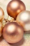 Υπόβαθρο σφαιρών Χριστουγέννων στοκ φωτογραφία