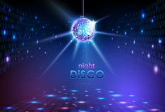 Υπόβαθρο σφαιρών Disco διανυσματική απεικόνιση