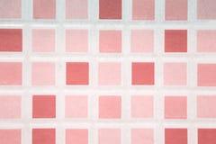 υπόβαθρο σχεδίων κεραμωμένων πατωμάτων, μικρά τετραγωνικά ζωηρόχρωμα κεραμίδια στο τ στοκ φωτογραφίες με δικαίωμα ελεύθερης χρήσης