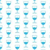 Υπόβαθρο σχεδίων ποτών γυαλιού διανυσματική απεικόνιση