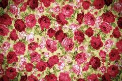Υπόβαθρο σχεδίων υφάσματος λουλουδιών Στοκ Εικόνα