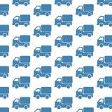 Υπόβαθρο σχεδίων φορτηγών αυτοκινήτων διανυσματική απεικόνιση