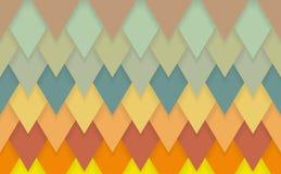 Υπόβαθρο σχεδίων deco τέχνης σιριτιών τριγώνων Στοκ εικόνες με δικαίωμα ελεύθερης χρήσης