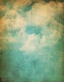 Υπόβαθρο σύννεφων Grunge Στοκ φωτογραφία με δικαίωμα ελεύθερης χρήσης