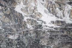 Υπόβαθρο σύστασης βράχου ηφαιστείων - μαμμούθ καυτά ελατήρια yellowston Στοκ φωτογραφία με δικαίωμα ελεύθερης χρήσης