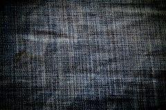 Υπόβαθρο σύστασης τζιν, σχέδιο μόδας Στοκ Φωτογραφίες