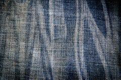 Υπόβαθρο σύστασης τζιν, σχέδιο μόδας Στοκ Εικόνες