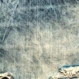 Υπόβαθρο σύστασης τζιν. Υφαντικός καμβάς τζιν Στοκ εικόνες με δικαίωμα ελεύθερης χρήσης