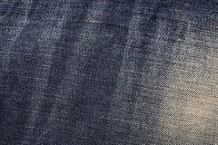 Υπόβαθρο σύστασης τζιν Στοκ εικόνες με δικαίωμα ελεύθερης χρήσης