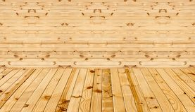 Υπόβαθρο σύστασης του εσωτερικού δωματίου φιαγμένο από ξύλινο στοκ φωτογραφίες με δικαίωμα ελεύθερης χρήσης