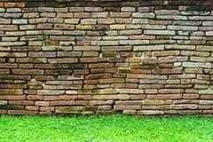 Υπόβαθρο σύστασης τούβλου τοίχων Στοκ Φωτογραφία