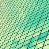 Υπόβαθρο σύστασης των σύγχρονων παραθύρων οικοδόμησης, εκλεκτής ποιότητας επίδραση Στοκ φωτογραφία με δικαίωμα ελεύθερης χρήσης