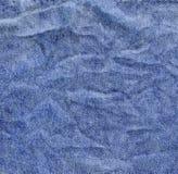 Υπόβαθρο σύστασης υφάσματος τζιν τζιν Στοκ φωτογραφία με δικαίωμα ελεύθερης χρήσης
