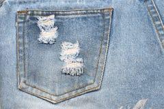 Υπόβαθρο σύστασης υφάσματος του Jean, κάποιο μέρος του κοντού μπλε τηγανιού Jean Στοκ Φωτογραφίες