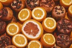 Υπόβαθρο σύστασης φρούτων Στοκ Εικόνες