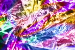 Υπόβαθρο σύστασης ύφους Vaporwave: ρόδινη φοβιτσιάρης σύσταση χρωμάτων νέου στοκ εικόνα