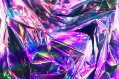 Υπόβαθρο σύστασης ύφους Vaporwave: ρόδινη φοβιτσιάρης σύσταση χρωμάτων νέου στοκ φωτογραφίες με δικαίωμα ελεύθερης χρήσης