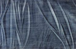 Υπόβαθρο σύστασης Jean κινηματογραφήσεων σε πρώτο πλάνο Στοκ Φωτογραφία