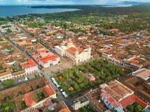 Υπόβαθρο ταξιδιού της Νικαράγουας στοκ φωτογραφία με δικαίωμα ελεύθερης χρήσης