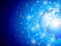 Υπόβαθρο τεχνολογίας Στοκ εικόνα με δικαίωμα ελεύθερης χρήσης