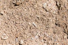 Υπόβαθρο της άμμου και του αμμοχάλικου στοκ φωτογραφία