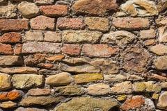 Υπόβαθρο της παλαιάς σύστασης τουβλότοιχος στοκ εικόνα με δικαίωμα ελεύθερης χρήσης