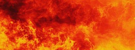 Υπόβαθρο της πυρκαγιάς ως σύμβολο της κόλασης και της κόλασης Στοκ Εικόνες