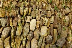 Υπόβαθρο της σύστασης τοίχων πετρών Στοκ Εικόνες