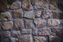 Υπόβαθρο της σύστασης τοίχων πετρών Στοκ Φωτογραφίες