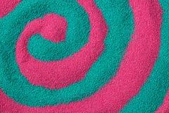 Υπόβαθρο της χρωματισμένης κινηματογράφησης σε πρώτο πλάνο άμμου Στοκ Φωτογραφίες