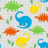 Υπόβαθρο της Dino διανυσματική απεικόνιση