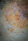 Υπόβαθρο τη σκουριά που κολλιέται με Στοκ φωτογραφίες με δικαίωμα ελεύθερης χρήσης