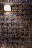 Υπόβαθρο τοίχων μωσαϊκών χαλκού Στοκ Φωτογραφίες